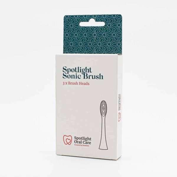 Spotlight tootbrush heads