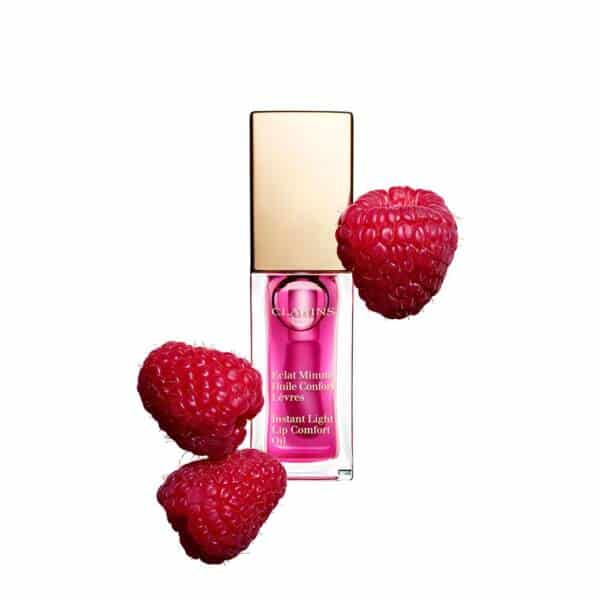 Clarins Lip Comfort Oil 02 Raspberry