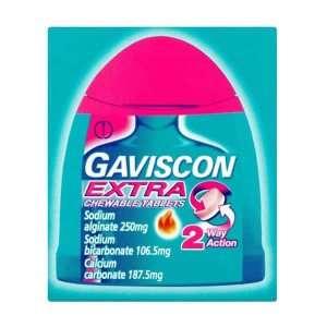 Gaviscon Extra Chewable Tablets
