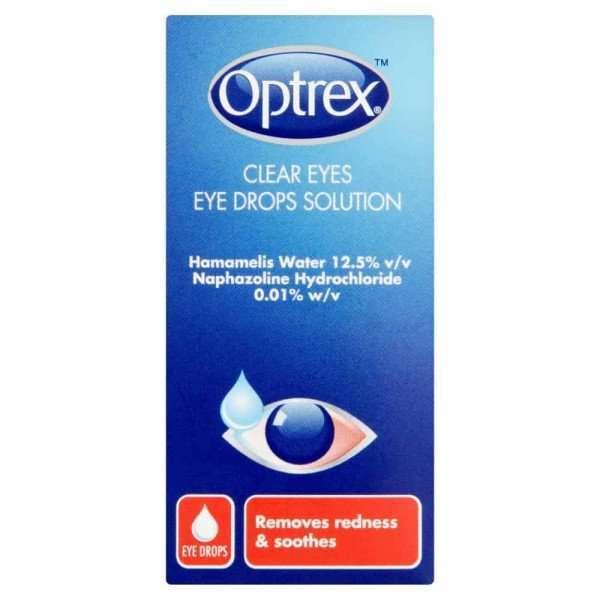 Optrex Clear Eyes Eye Drops Solution