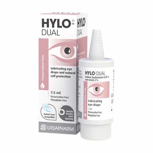 Hylo-Dual Eye Drops