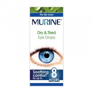 Murine dry and tired eye drops