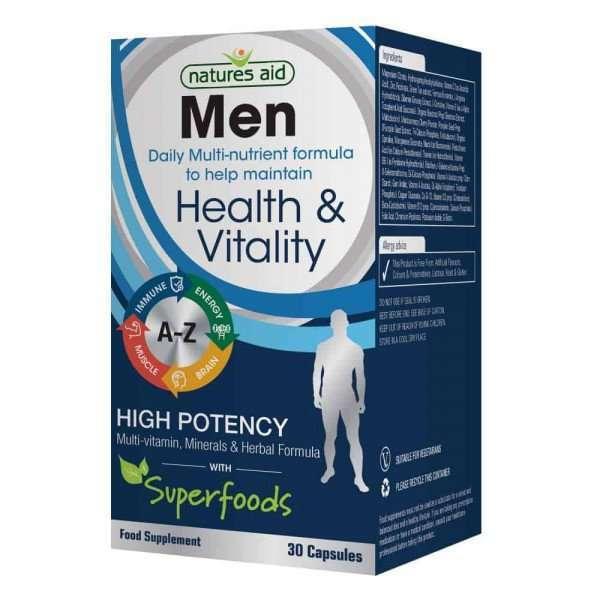 Natures Aid Men's Multi-Vitamins