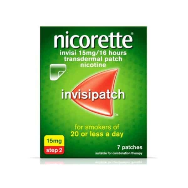 Nicorette Invisi Transdermal Patch 15mg