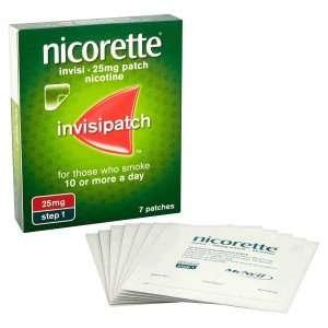Nicorette Invisi Transdermal Patch 25mg