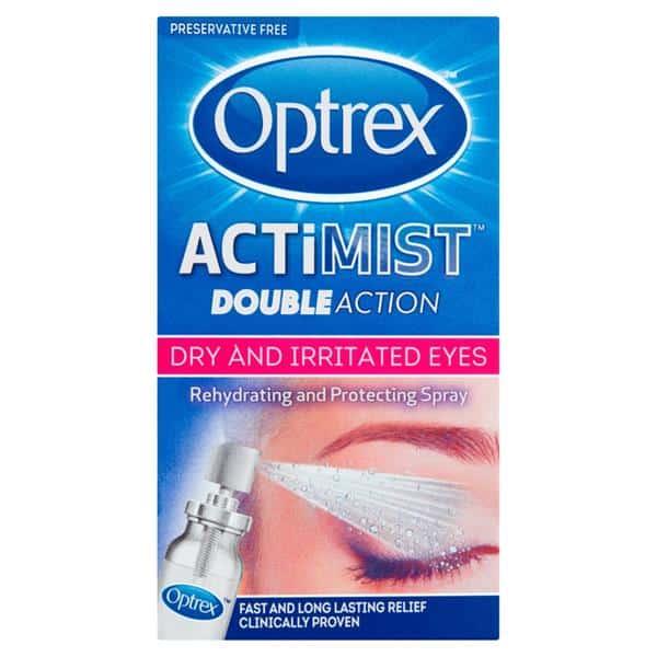 Optrex ActiMist Double Action Spray