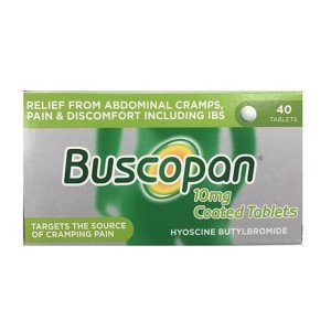 Buscopan tablets 40 pack