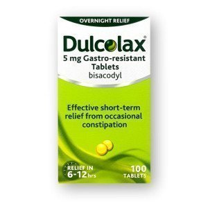 Dulcolax 5mg Gastro Resistant Tablets 100 Pack